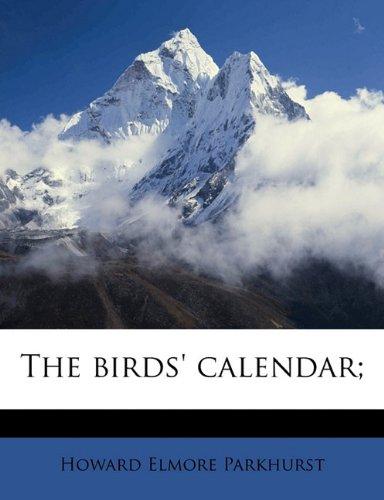 The birds' calendar;