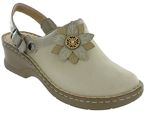 Cushion Walk, Damen Clogs & Pantoletten , beige - beige - Größe: 38 EU