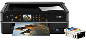 Epson Stylus Photo PX720WD Imprimante Multifonctions jet d'encre 3 en 1 6 couleurs Photo Wi-Fi