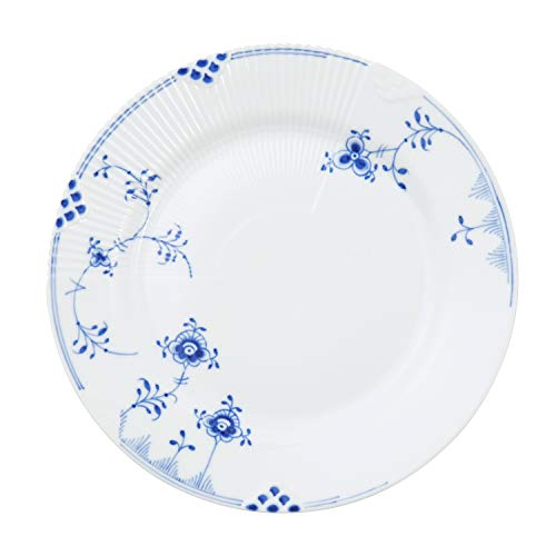 Royal Copenhagen Blue Elements Teller Flach 21 cm. - Royal Copenhagen Elements