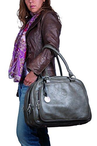 Wickeltasche Tender Multizip Bag, cognac - 5