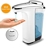 Touchless Battery Operated Automatic Soap Dispenser,17oz/500ml Premium Electric with Adjustable Soap Dispensing Volume,Infrared