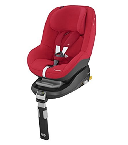 Maxi-Cosi Pearl Car Seat, Vivid Red + FamilyFix Car Seat Base ISOFIX, Black Maxi-Cosi Isofix anchorages provides the safest, easiest and quickest way to install a car seat  Innovative stay open harness stays open to easily get the child in and out in seconds  ISOFIX car seat base suitable for children up to 18 kg (from birth to 4 years) 4