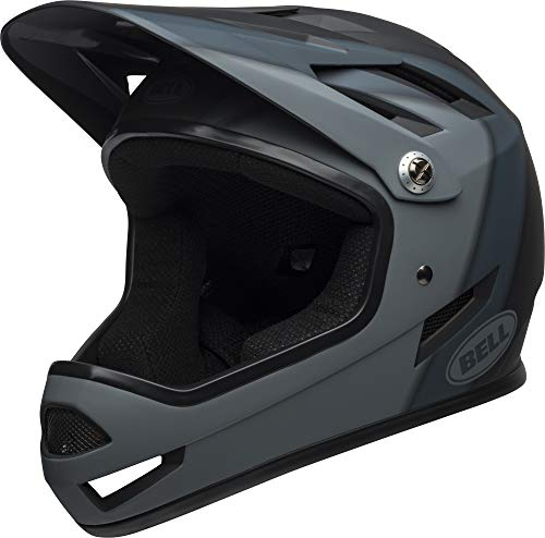 Bell sanction mtb - casco integrale, unisex, behsanbgxs, presences matte black, x-small/48-51 cm