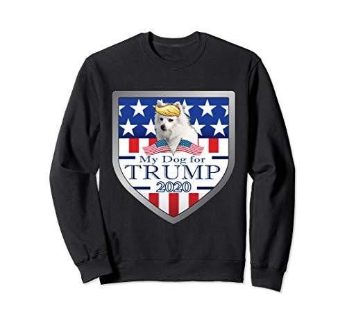My American Eskimo For Trump Sweatshirt -
