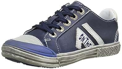 GBB Marvyn, Sneakers Basses garçon, Bleu (12 Vte Marine/Grege Dpf/Fans), 25 EU