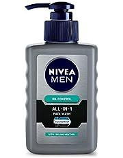NIVEA MEN Face Wash, All-in-One Oil Control, 150ml