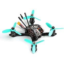 Ballylelly Drone RC con CameraGEPRC Sparrow 139 mm MX-3 V2 Micro Brushless FPV Racing Quadcopter con Receptor FrSky 600TVL 5.8G Cámara de Alta Velocidad BNF
