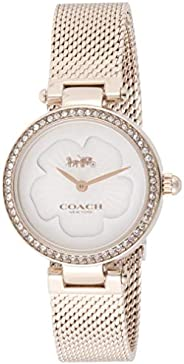 Coach | Women's Park | Rose Gold Mesh | Flower Dial | 1450