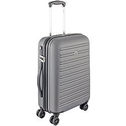 DELSEY PARIS SEGUR Bagage à Main, Gris, cabine slim ( 55 cm - 40 L)