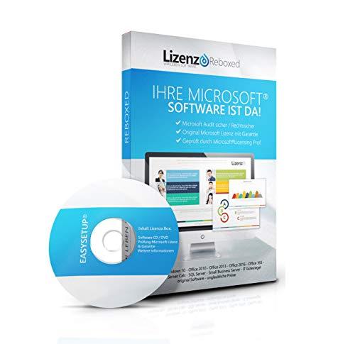 Original Microsoft® Access 2010 Lizenzschlüssel + Lizenza ISO CD / DVD für 32 und 64 bit Deutsch inklusive Workstation 2016 für Office