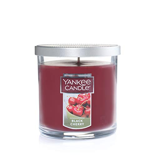 """Yankee Candle Yankee candle """"black cherry"""" stumpenkerze rot klein"""