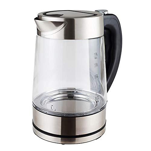 LIGHTOP Wasserkocher Glas Kalkfilter Automatisches Ausschalten mit Temperatureinstellung...