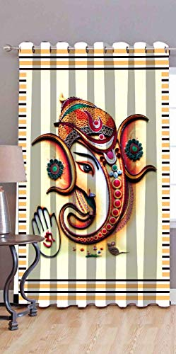 check MRP of god printed curtains Amazin Homes