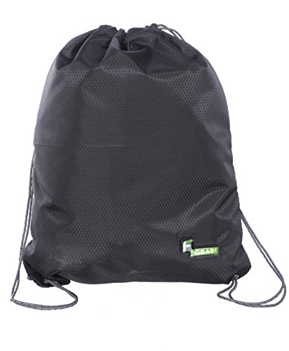 F Gear String V2 8 Ltrs Nylon Black Gym Bag  available at amazon for Rs.299