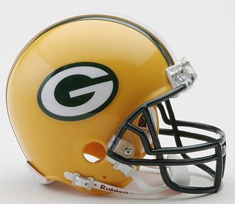 Green Bay Packers Replica Mini Helmet w/ Z2B Face Mask