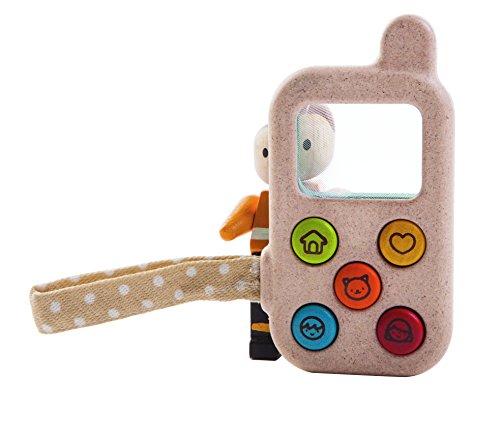 Plantoys- My First Phone, PT5674, Wood