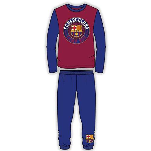 Kids FC Barcelona Official Boys Pyjamas Nightwear Pyjama Set PJs Sleepwear   FCB (Barcelona - fcd82149579