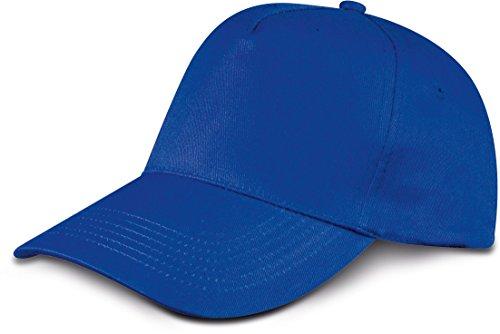 cappellino-da-baseball-5-chiusura-a-strappo-unisex-misura-tanti-colori-unisex-cotone-fiordaliso-blu