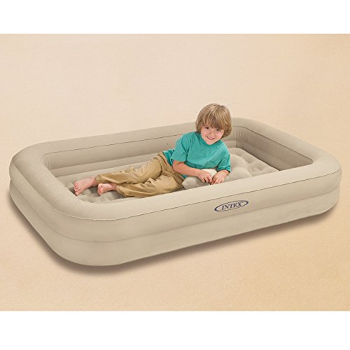 Intex Luftbett KIDZ TRAVEL BED SET 107x168x25 cm, inkl. Pumpe - 3