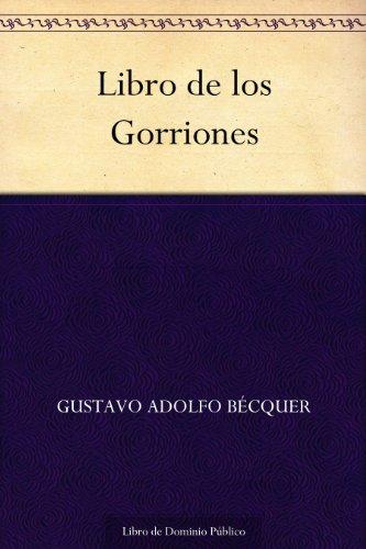 Libro de los Gorriones por Gustavo Adolfo Bécquer