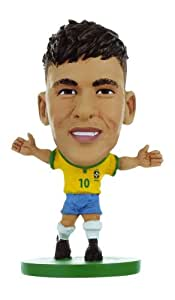 Soccerstarz - 77001 - Figurine - Sport - Equipe De Brésil - Neymar