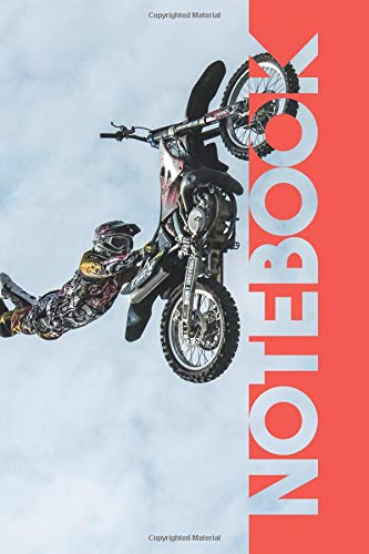 Notebook: Freestyle Motocross Terrific Composition Book for Dirt Bike Racing Fans por Molly Elodie Rose