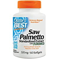 Doctors Best Saw Palmetto Standardised Extract, 60 Softgels