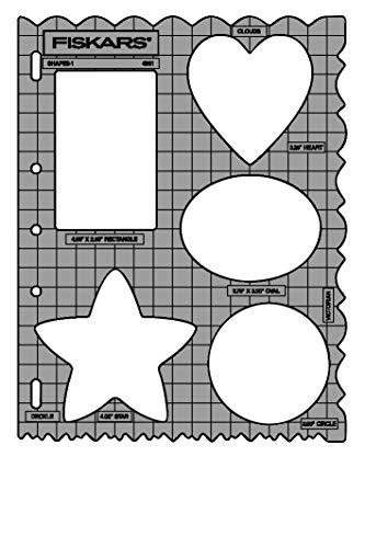 Fiskars® Shape Cutter Schablone Formen-Mix