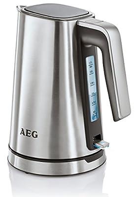 AEG 2074475 EWA 7300 Bouilloire Electrique 1,7 L Inox 25 x 23 x 17 cm