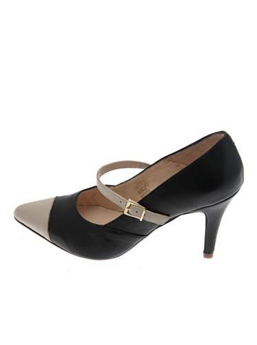 Pascal Morabito Zapatos Janice Negro/Beige 38