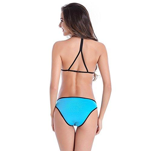 KRY Damen Bikini-Set Blau