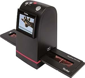 Rollei DF-S 100 SE - Scanner de diapositives et négatifs - 1800dpi (2520x1680) - SD/SDHC/MMC cartes jusqu'à 16 Go