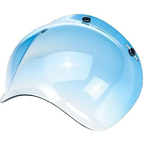 Visière rétro universelle en forme de bulle avec 3 fixations pour casques de moto ouverts