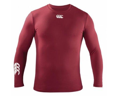 Canterbury of New Zealand Kinder Rugby-T-Shirt, Burgunderrot, Junior S