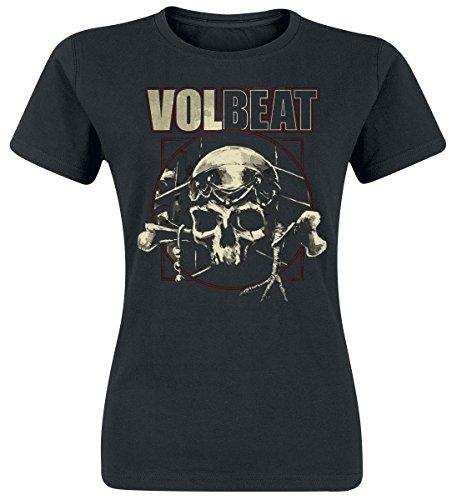 Volbeat Voodoo Skull Maglia donna nero XXL