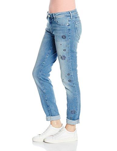 Mavi Damen Boyfriend Jeans Andrea Blau (Lt Indigo Fancy Str 22712)