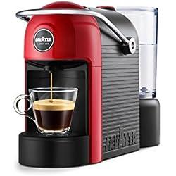 Lavazza Jolie Independiente Máquina de café en cápsulas Negro, Rojo 0,6 L 1 tazas Semi-automática - Cafetera (Independiente, Máquina de café en cápsulas, 0,6 L, Cápsula de café, 1250 W, Negro, Rojo)