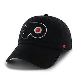 NHL Philadelphia Flyers Franchise Fitted Hat, X-Large, Black