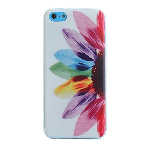 MOONCASE pour iPhone 5G / 5S Case Coque Silicone Gel TPU Housse Case Étui Cover X09 X04 #1207