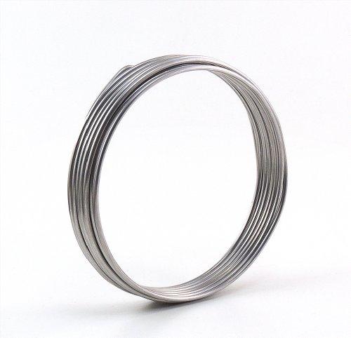 Aluminiumdraht Aludraht Basteldraht 3mm x 5m SILBER