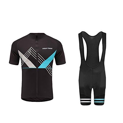Uglyfrog 2018 Neuen Männer Kurzarm Fahrrad Breathable Sommer Damen Fahrradtrikot Outdoor Sports Wear Triathon Rikots & Shirts+Bib Kurze Hosen Sets