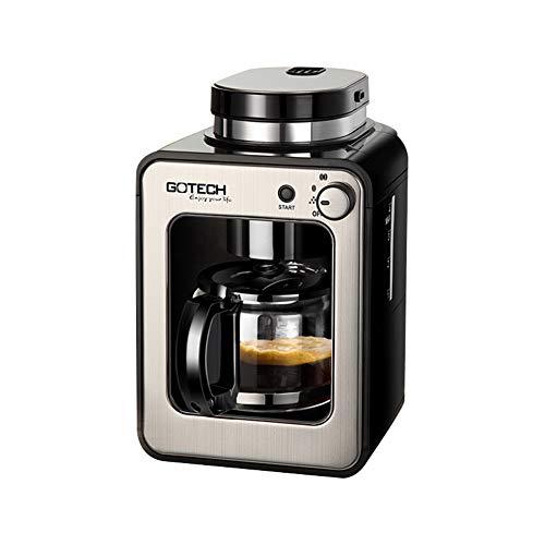 Macchina da caffè a filtro, macinacaffè e macchina da caffè, 600 w, 580 ml, adatta per l'home office