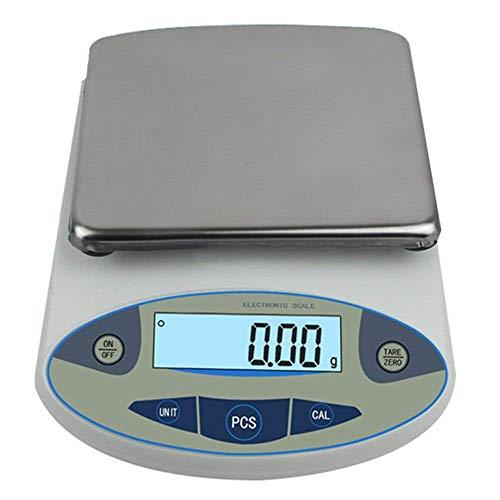 CGOLDENWALL Bilancia analitica elettronica di alta precisione da laboratorio Bilancia digitale bilancia da gioielleria oro Clark Bilance da cucina Bilancia di precisione (5000g,0.01g)