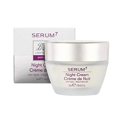 SERUM7 Regenerierende Nachtcreme für trockene Haut