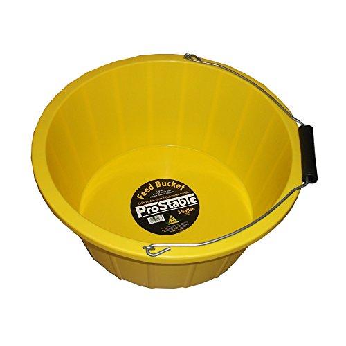 ProStable Futtereimer (3 Gallons (10 Liter)) (Gelb)
