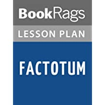 Lesson Plans Factotum (English Edition)