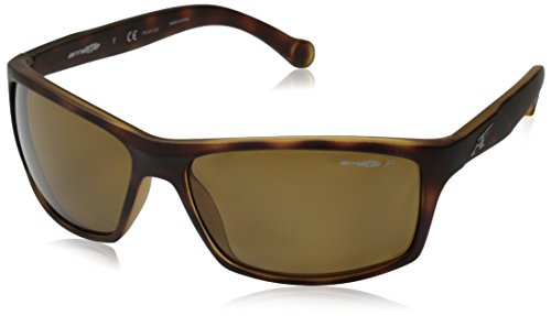 Arnette Herren 0AN4207 215283 61 Sonnenbrille, Braun (Fuzzy Havana/Brown Polarized),