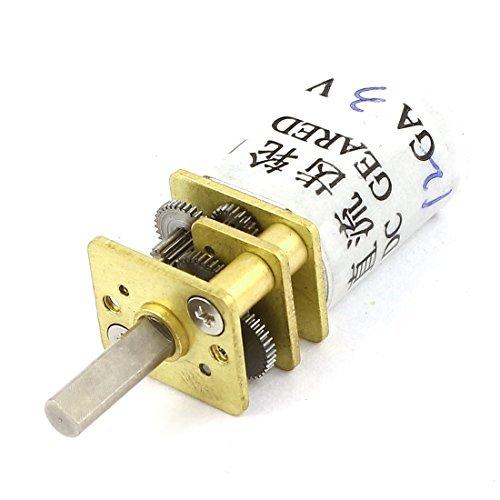 12mm DC 3V 50rpm Geschwindigkeitsreduzierung Elektro Getriebe Mini Motor