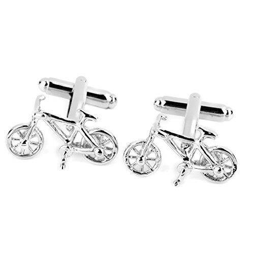 mens-bicycle-shape-cufflinks-cuff-links-silver